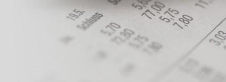 Titelbild Finanzwirtschaft Zahlen