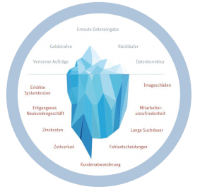 Datenqualität Eisberg